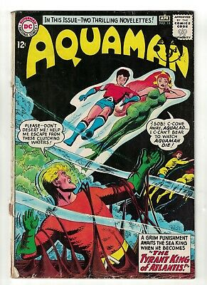 DC Comics AQUAMAN Vol 1 No 14  SILVER AGE justice league 2.0 G  1964