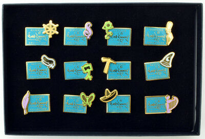 WDCC Walt Disney Classics Collection Production Mark 12 Pin Set