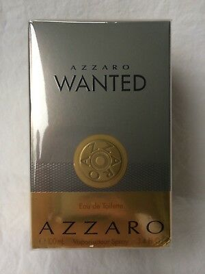 AZZARO WANTED. Eau de Toilette. 100 ml, EdT Vaporisateur Spray. Neu in OVP.