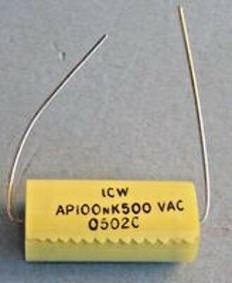 CAPACITORS POLYPROPYLENE AXIAL TYPE (See Listing)