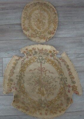 2 Tapestry   French antique 19th-century for pillows chair armchair