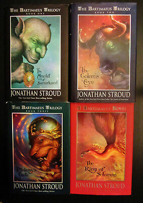 Complete 4 Book Series BARTIMAEUS TRILOGY Ring Of Solomon Jonathan Stroud (used)