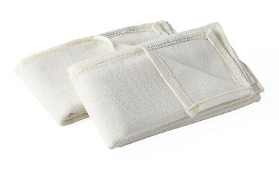 Devon sterile White OR medical surgical O.R.Cotton towels 16x25 Case of 80