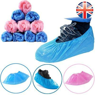 *UK Seller* 2~200X Disposable Shoe Covers Protectors Overshoes PREMIUM QUALITY