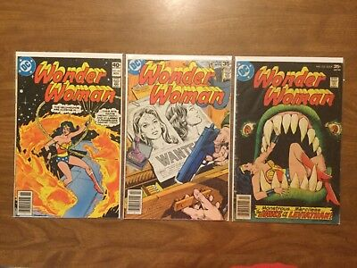 DC 1977 Wonder Woman 233 240 261 Gray Morrow Colletta Don Heck Conway Giordiano