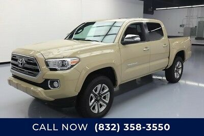 Toyota Tacoma Limited Texas Direct Auto 2017 Limited Used 3.5L V6 24V Automatic 4X2 Pickup Truck
