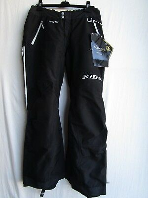 KLIM womens ALPINE pants black LARGE 5088-001-140-000