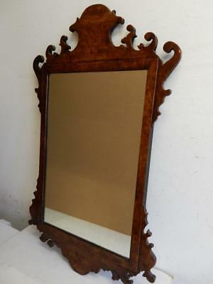 ANTIQUE really old MIRROR wall hanging