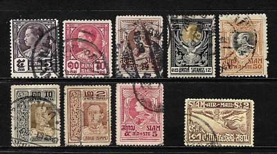 Siam.......good Postage Stamps..used...009328