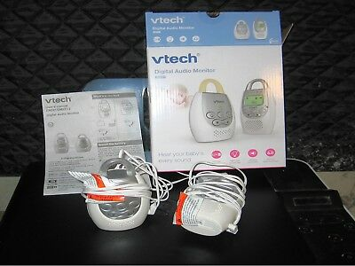 Vtech Model Dm221 Digital Audio Room Monitor In Box With Little Use