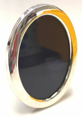 Vintage SOLID SILVER Oval Photo Frame - Hallmarked R.Carr Sheffield 1983 - N19