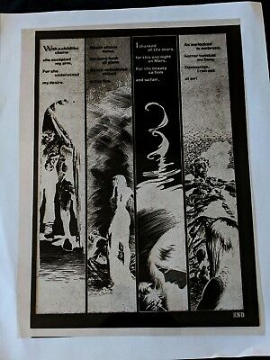 Creepy Magazine #87 Berni Wrightson A MARTIAN SAGA Publishers File Negative pg20