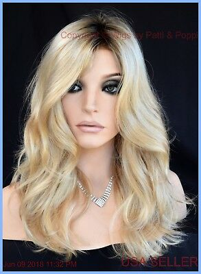 Bridgette REVLON WIG *Cream Brulee Rooted Blonde*Lace front long curly