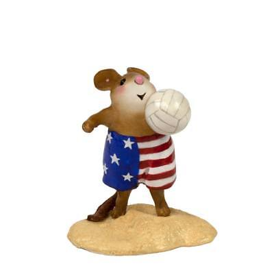 FLAG SERVICE by Wee Forest Folk, WFF# MS-32a, LTD Patriotic Mouse 2018