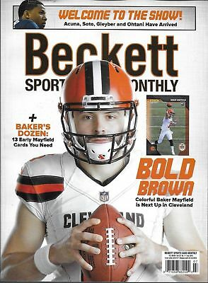 New Beckett Sports Card Monthly Price Guide #400 July 2018