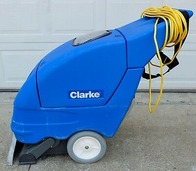 Clarke Clean Track 16 Wash Rinse Carpet Extractor 120v CordedElectric Commercial