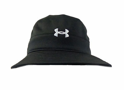 66a89cb130ddb ... wholesale new under armour performance heat gear small medium black bucket  hat cap s cb898 70ab1