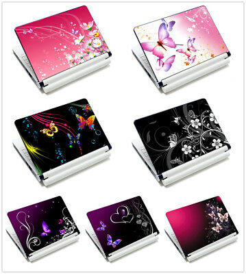 "For 11.6""-15.6"" Sony HP Dell Toshiba Butterfly Laptop Sticker Skin Decal Cover"
