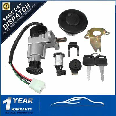 Ignition Switch Key Fuel Tank Cap For Gy6 139qmb 49/50/125/150cc Chinese Scooter