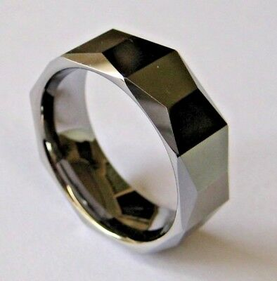 GENESIS DESIGNS: MEN'S STYLISH GENUINE TUNGSTEN RING - Australian Seller
