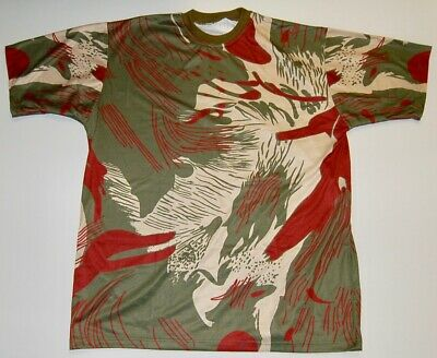 RHODESIAN BUSH CAMO T-SHIRT -  MEDIUM  / 44 Inch Chest