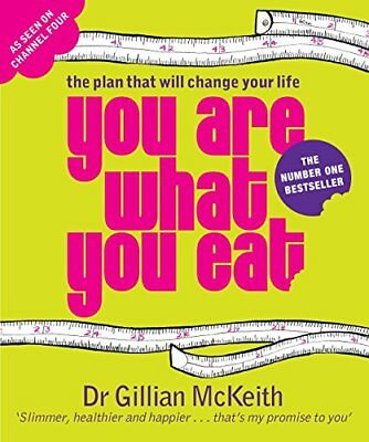 YOU ARE WHAT YOU EAT : THE PLAN THAT WILL CHANGE YOUR LIFE NUEVO Brossura Libro