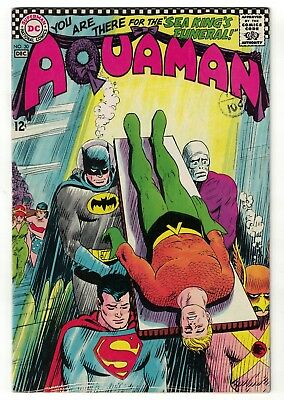 DC Comics AQUAMAN 1 30 Death Of  SILVER AGE justice league VFN- 7.5 1966