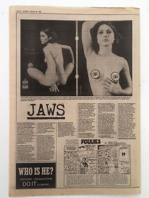 BLONDIE 'youthful Debbie pics' 1978 UK ARTICLE / clipping