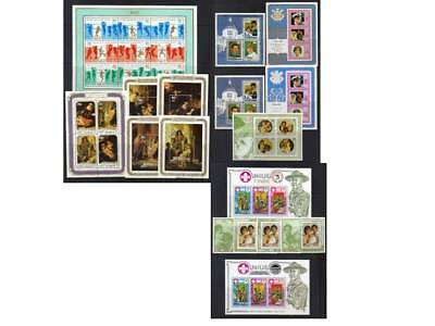 (167) Niue 1981-1983 Mnh Ms Collection Cat £41+