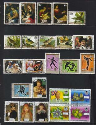 Niue 1984-1985 Used Selection Cat £31+