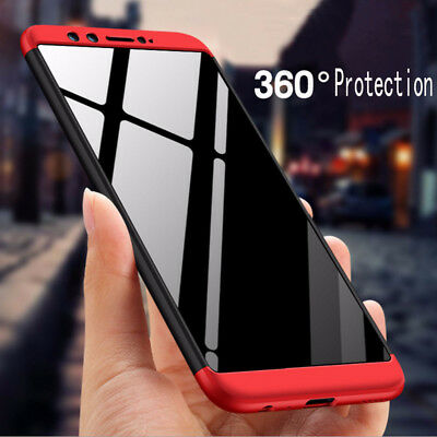Slim 360° Body Hybrid Case Shockproof Protection Cover For Huawei Honor 9 Lite