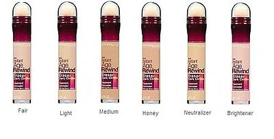 New Maybelline Instant Age Rewind Eraser Dark Circles Concealer You Choose