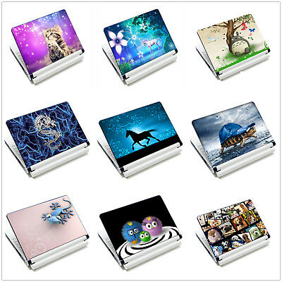 "Laptop Animal Sticker Skin Decal Cover For 11.6""-15.6"" Sony HP Dell Acer Macbook"