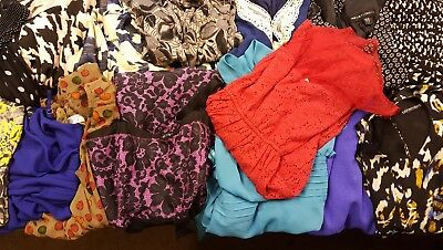 Joblot 15 Ladies Mixed Dresses & Sizes Skater, Strappy, River Island, New Look.