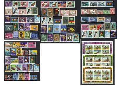 (140) Ghana Mostly Mh Collection