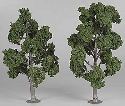 "NEW Woodland Assembled Tree Medium Green 7"" Train Scenery N/HO TR1517"