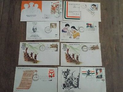 India First Day Cover Collection Of 68 Covers