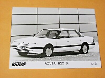 1987 ROVER 820 Si ORIGINAL PRESS PHOTO....