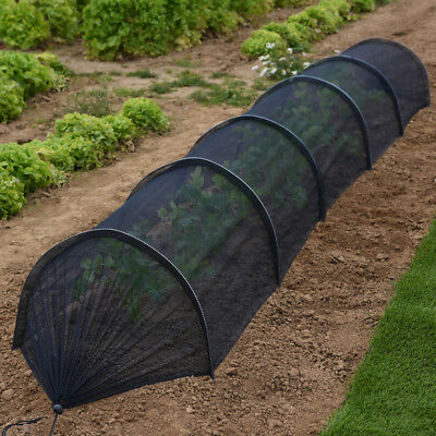 Greenhouse Tunnel Garden Plant Veg Protection Nets 1, 2 or 4 with Labels T&M