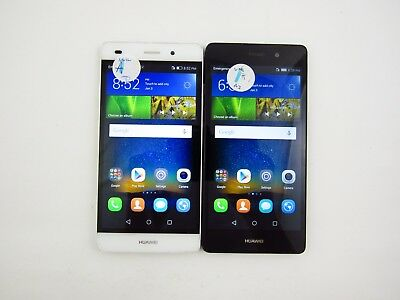 Lot of 2 Huawei P8lite ALE-L04 Unknown Carrier Check IMEI Grade A 5-1235