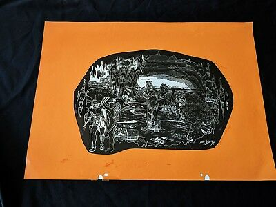 "Robert Williams PORTFOLIO OF UNDERGROUND ART Publisher File Negative 20"" x 15"""