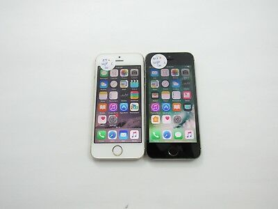 Lot of 2 Apple iPhone 5s 16GB A1533 AT&T Check IMEI Grade C 4-765