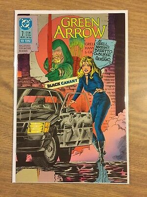 Green Arrow (1st Series) #7 1988 VF to NM  DC