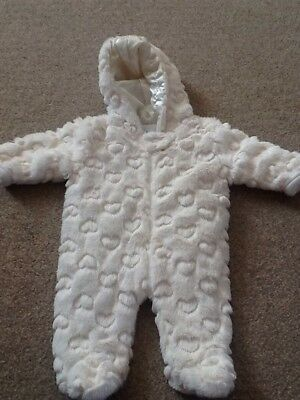 Gorgeous Zip Zap Snowsuit With Hood Size Up to 1 Month