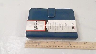 NOS NWT Turquoise Mundi Agenda Planner Wallet Combo