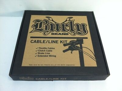 "Brand New Burly Control Kit for 14"" Gorilla Bars. B30-1012 for Harley Davidson"
