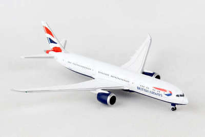 He528948-001 Herpa Wings British Airways Boeing 787-9 Dreamliner 1/500 Die-Cast