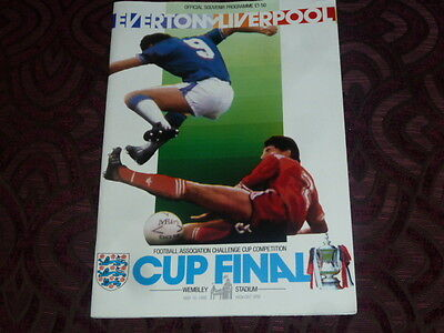 1986  Fa Cup Final Liverpool V Everton