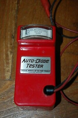 vintage Auto Diode Tester 134AA by Leece-Neville Company