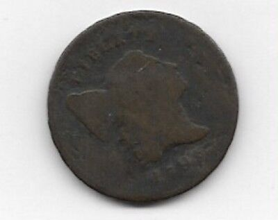 1795 Liberty Cap, Half Cent With Lettered Edge & Pole Variety G